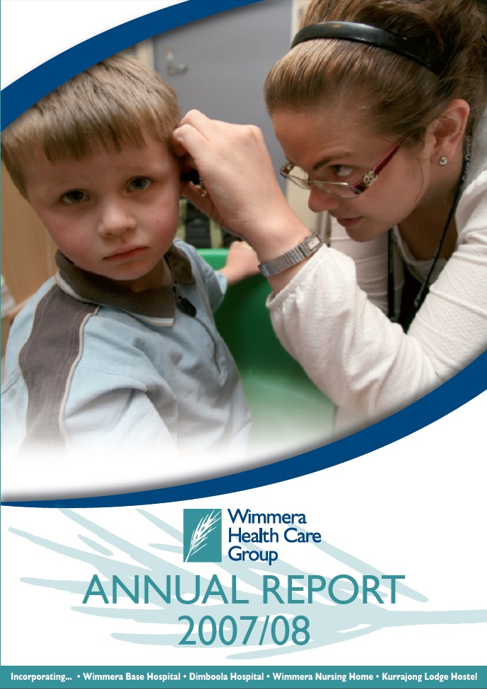 Annual Report Cover 2007 2008