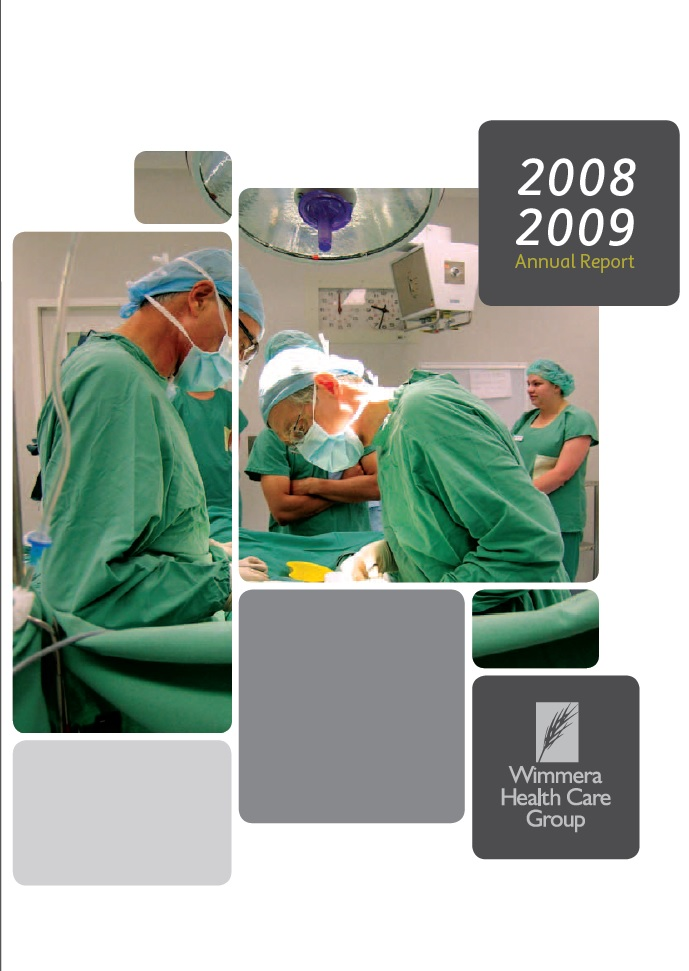 Annual Report Cover 2008 2009