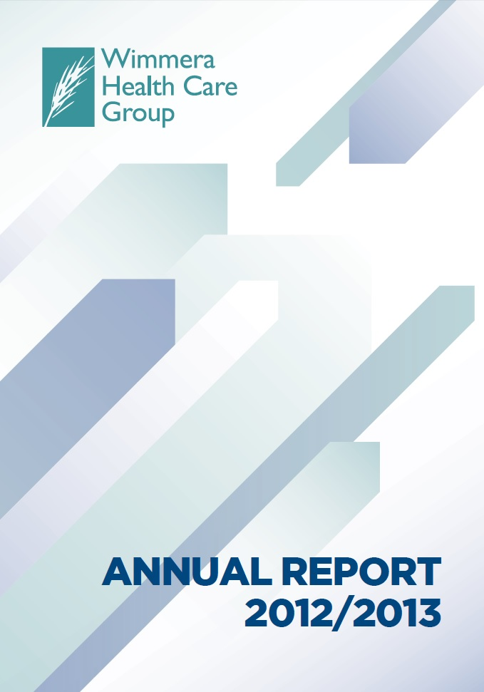 Annual Report Cover 2012 2013
