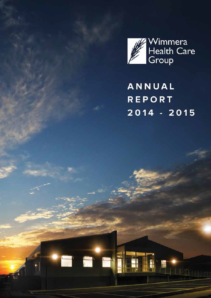 Annual Report Cover 2014 2015